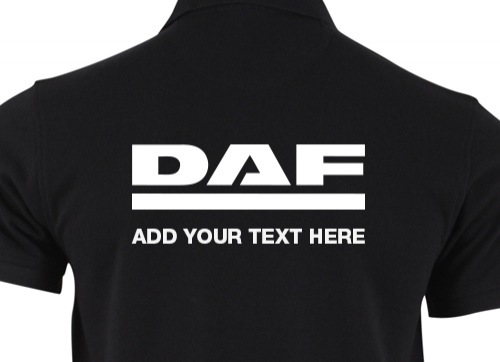 DAF Embroidery and Your Logo