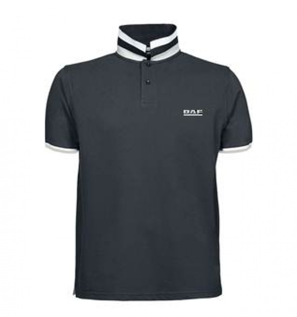 DAF mens polo shirt - contrast trim