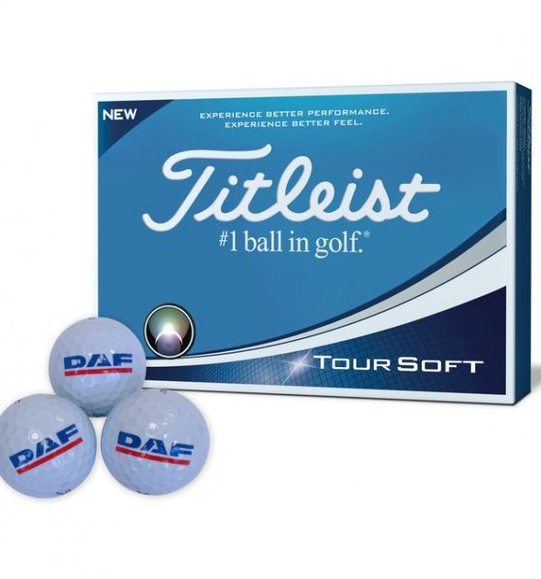 DAF Titleist Tour Soft Golf Balls - 12 pack - Image 1