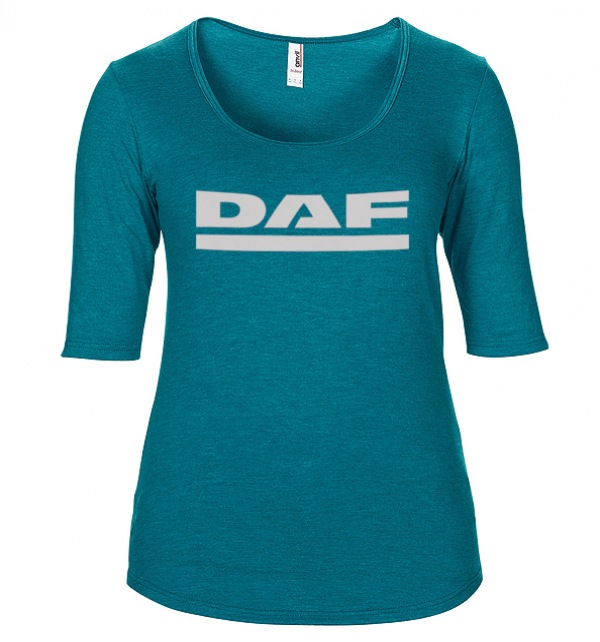 DAF Scoop neck Ladies t-shirt in various colours