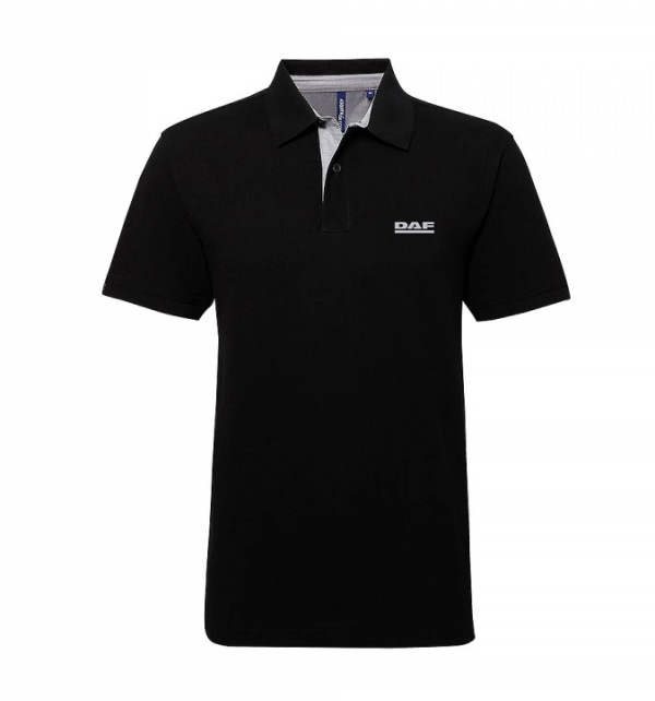 DAF Asquith & Fox Cotton Polo with Contrast trim - Image 2
