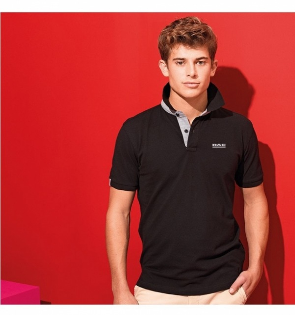 DAF Asquith & Fox Cotton Polo with Contrast trim - Image 1