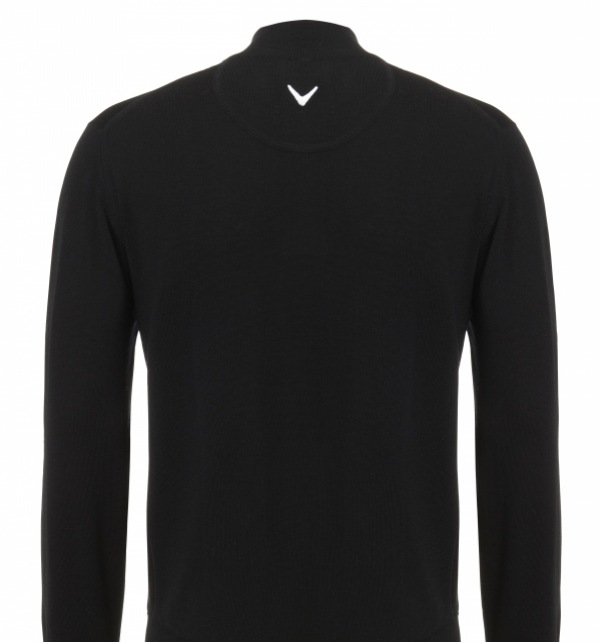 DAF Callaway Merino 1/4 zip sweater - Image 2