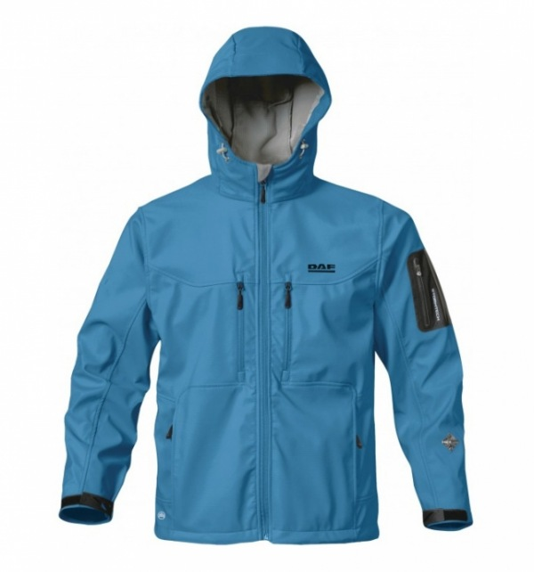 DAF/Stormtech High Performance Blue Jacket