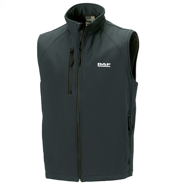 DAF Men's Softshell Gilet