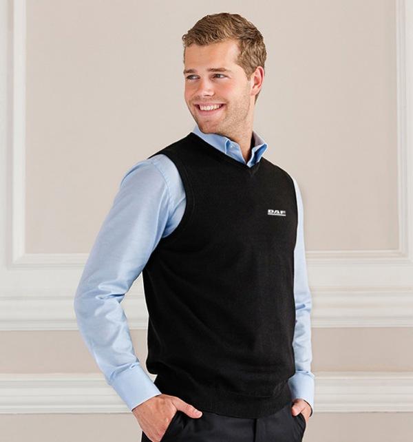 DAF V-Neck Knitted Sleeveless Pullover
