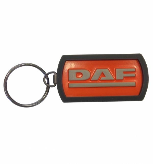 DAF Metal Orange Keyring - Image 1
