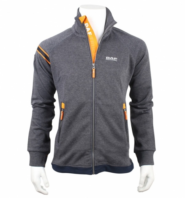 DAF Zip Up Sweat Jacket - Image 1