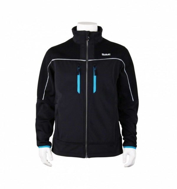 DAF Softshell Jacket (blue & black) - Image 1