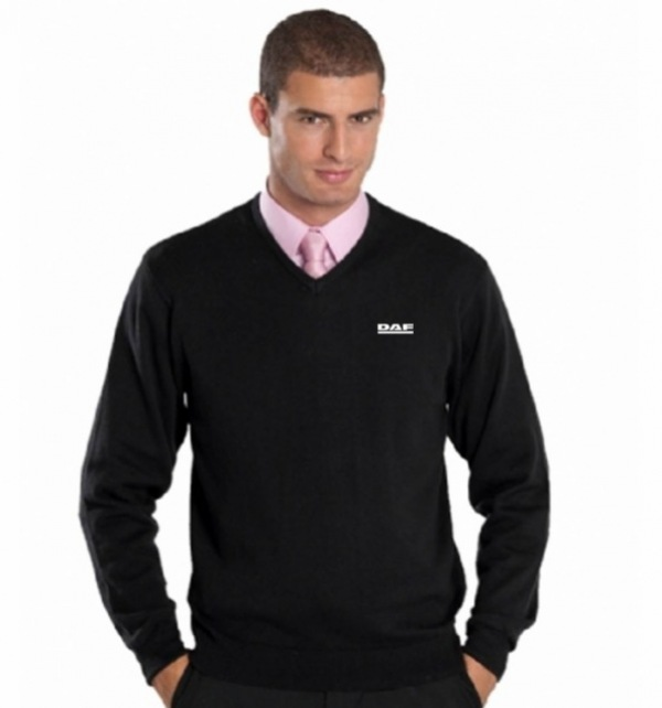 DAF Russell V Neck Sweater - Image 1