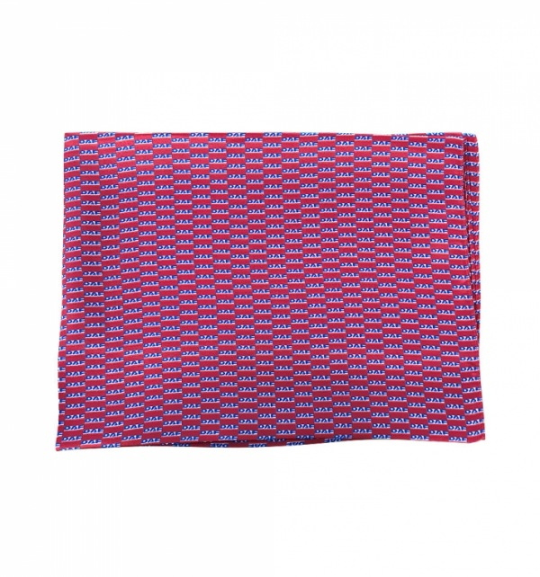 2019 DAF Red Silk Scarf
